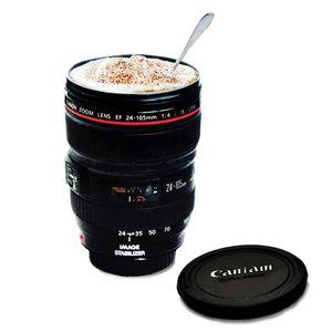 Al por mayor- Fashion Caniam SLR Camera Lens 24-105 mm escala 1: 1 de café de plástico lente de la lente creativa