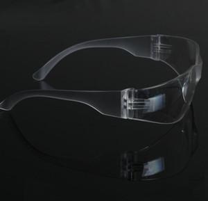 الجملة نظارات السلامة مختبر العين حماية نظارات واقية واضح عدسة نظارات السلامة في مكان العمل لوازم شحن مجاني