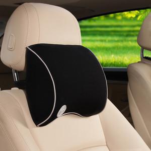 Uso universal 4 colores Natrual Memoria Espuma Reposacabezas Reposacabezas del automóvil Suministros Cuello Reposacabezas de seguridad para automóviles Asientos de apoyo
