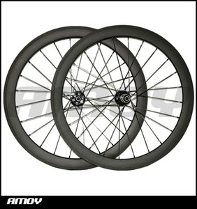 Sıcak satmak, disk 700C 50mm 25mm Kattığı Karbon kancasız asimetrik Wheelset Yol Cyclocross Bisiklet Bisiklet Disk fren Hub ...