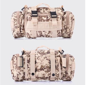 Multi-function outdoor sports Bags camping hiking backpacks Tactical Waist packs waist purse phone pouch running belt cycling canvas bag