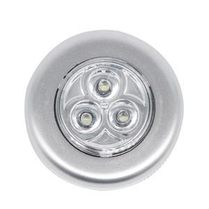 Edison2011 Super Helle LED Auto Touch Nachtlicht 3LED Für Auto Auto Innenraum Kofferraum Tür Notfall Push Touch Licht Nachtlicht Lampe