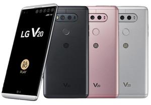 Téléphone cellulaire déverrouillé 4 Go / 64 Go d'origine LG V20 H990N H910 H918 VS995 débloqué 5,7 pouces double 16MP + 8MP Android 7.0 4G LTE