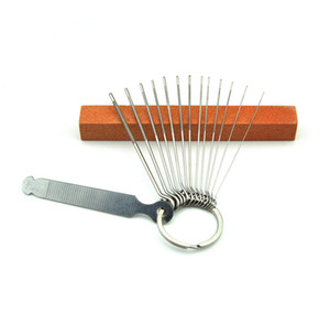 Cordes de guitare oreiller cou rainure de meulage fichier fente métal couteau circulaire frotter bricolage guitare accessoires outils de maintenance