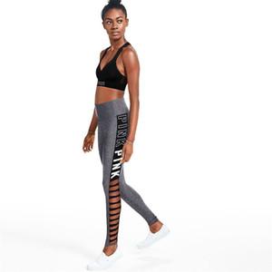 2018 vendita calda donne sexy leggings allenamento per jogging fitness legging a vita alta sport leggins elastico allenamento ghette leggings