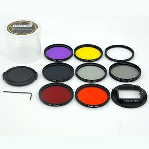 Kit de filtro 11/1 52mm UV / CPL / ND / COLOR / conjunto para câmera de ação Black Hero 7 6 5
