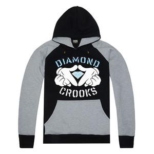 Envío gratis Hip Hop Hoodie para mujeres otoño invierno algodón de las mujeres Moda Crooks and Castles Hoody HOMBRE Hoodie