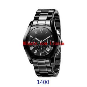 Orologio svizzero classico alla moda uomo orologio ar1400 ar1410 orologio al quarzo spedizione gratuita.