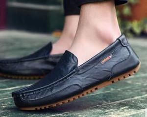 Diseñador nuevo llega 2 color perezosos zapatos zapatos de vestir de negocios de los hombres y el novio zapatos de boda yzs168