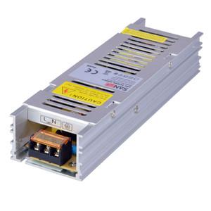 Sanpu Slim Power Supply 12V 24V 150W AC-DC Lighting Transformer LED Driver IP20 Aluminum Indoor for LEDs Light Bars