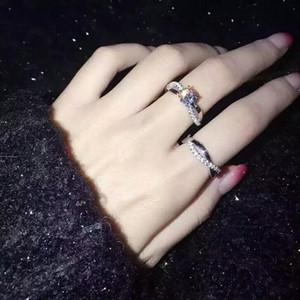 Victoria Wieck Princess cut 토파즈 시뮬레이션 다이아몬드 925 스털링 실버 여성 약혼 웨딩 밴드 반지 세트