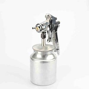 Ücretsiz Kargo W-77S Boya Hava Püskürtme Tabancası Pnömatik Püskürtme Araçları 3.0mm Meme Yüksek Atomizasyon Mobilya Ağaç İşleme Araba Kaplama