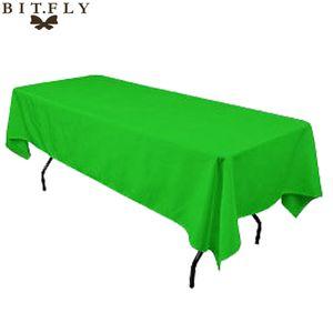 145cmx 304cm Satin Table Cloth Rectangular Tablecloth Fabric For Home Wedding Tables Restaurant Party Christmas Decoration