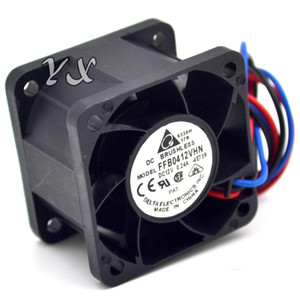 for Delta FFB0412VHN 4028 4cm 12V 0.24A Double Ball Cooling Fan