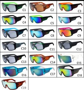 MOQ = 10 pcs Hommes Lunettes De Soleil Marque Designer Oculos de Sol Grand Cadre Visage Domo Hommes Sport Revêtement Lunettes Gafas De Sol Masculino B2030