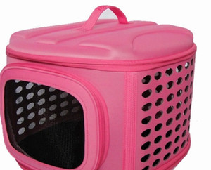 EVA Ao Ar Livre portátil Dog Carrier zipper Cão Suprimentos Cat Carrier cilindro Pet Bag Multicolor Pet Products Atacado 77