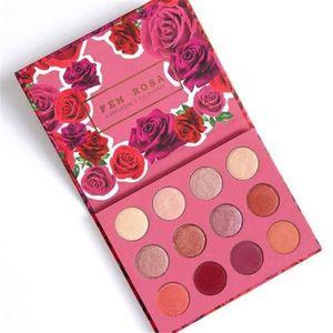 2019 حار خداع Colourpop Cosmetics X Karrueche Karrueche فيم روزا هي أعتقد أنني أحبك بودرة ظلال العيون ظلال العيون 12 لون ظلال العيون