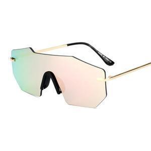 Estilo Mais Recente de verão Só Óculos de SOL 7 Cores Óculos De Sol Dos Homens de Vidro Da Bicicleta AGRADÁVEL Óculos de Sol Esportes Brilham Cor Óculos Um +++ Frete Grátis