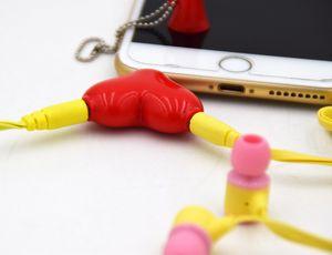 3.5mm Fone de Ouvido Masculino Para Cabos Duplos de Áudio Feminino Fone de Ouvido Splitter Adaptador Plugue Fone de Ouvido Estéreo Divisores