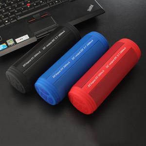 Super Bass Président Bluetooth T3 IPX5 extérieur Sport Mini-parleurs sans fil étanche Haut-parleurs radio FM de soutien, carte Micro SD pour téléphone
