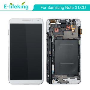 hızlı DHL kargo ile Samsung Galaxy Note için toptan LCD Ekran 3 N9000 N9005 N900A N900T Dokunmatik Ekran Sayısallaştırıcı Değiştirme