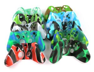 Funda de silicona camuflaje para Microsoft Xbox One Juegos Controlador de piel protectora Cver para XboxOne