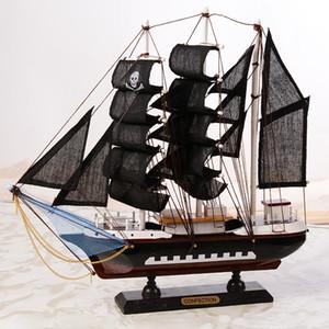 Bateaux en bois Bateau à voile modèle Artisanat nautiques Méditerranée modèle Bateau à voile Bateaux style Décoration intérieure