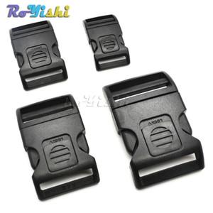 50pcs / lot Kunststoff selbstsichernde gewölbte Schalter Schnalle für Rucksackgurte Camping Taschen