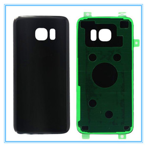 10pcs lot Original New Glass Housing Back Cover Case With Sticker for Samsung Galaxy S7 Edge G935 G935F Rear Battery Door Replacement Parts