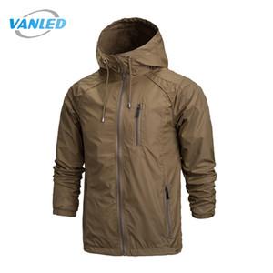 All'ingrosso 2017 primavera nuovi uomini giacca moda giacca a vento giacche impermeabili giacche uomo cappotti giacca cappotto casual Plus Size 4XL