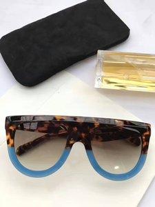 선글라스 선글라스 CL41398 및 드 GAFAS 새로운 브랜드 솔 박스 타원 남성 여성 안경 태양 선글라스 색상 oculos way fbpke