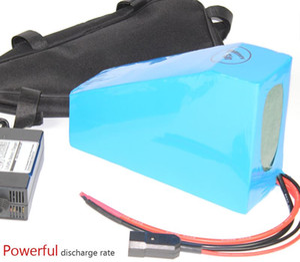 E BIKE 52V 20.3AH Elektrische Fahrrad-Lithium-Batterie 2000W langes Leben Dreieck-Packungsfreie EU US-Zollsteuern