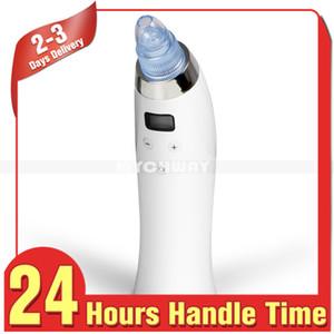 Maravilloso regalo para el cuidado de la piel Dermabrasión de diamante Limpiador de poros Comedo Blackhead Remover Aspiradora Dispositivo de belleza