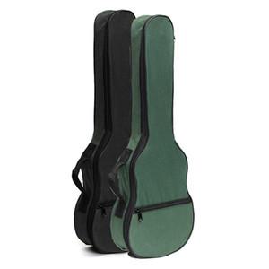 Ukulele Macio Ombro Preto Verde Bolsa de Transporte Musical Com alças Para Guitarra Acústica Instrumentos Musicais Peças Acessórios