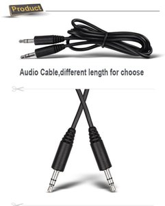 3,5 мм штекер аудио кабель M 3,5 мм MP3 / 4 100% горячая распродажа 300 шт.