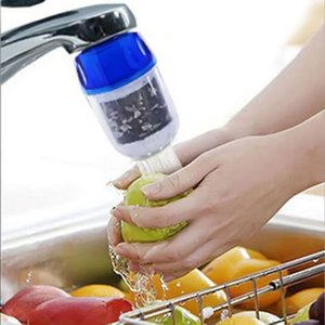 Cartuccia di pulizia del filtro depuratore di acqua di cocco Coconut Pulire rubinetto della rubinetteria da cucina E00711
