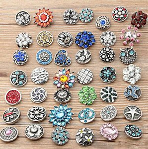 The new explosion of fashion Mixed Many styles personality charm bracelet Noosa metal snap button