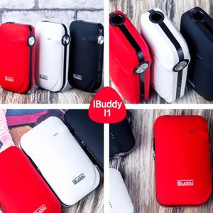 100% Аутентичный нагревательный комплект IBuddy I1 E-cig с электронным сигаретным комплектом First Pin-style Встроенный аккумулятор емкостью 1800 мАч с материалом ABS + PC