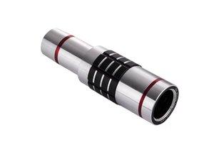 범용 18 배 줌 광학 망원경 렌즈 180도 어안 광각 매크로 렌즈와 미니 삼각대를 들어 삼성 아이폰 샤오 미
