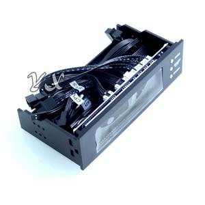 neue STW-5023 Lüftersteuerung Lüftergeschwindigkeitsregler Optisches Laufwerk Chassis Frontplatte 3-pin 12V Computer Heizkörperthermostate