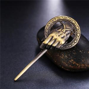 Lied von Eis und Feuer Brosche Hand des Königs Revers inspiriert authentische Prop Pin Badge Broschen Film Schmuck