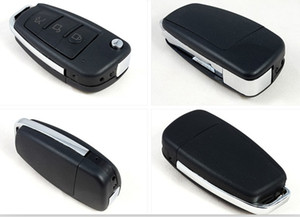 كامل HD 1080P كاميرا مفتاح السيارة مع رؤية ليلية كشف الحركة S820 سيارة كيشاين الثقب كاميرا رقمية مسجل الصوت والفيديو