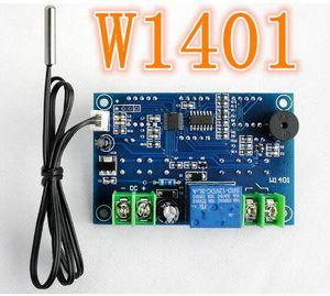 W1401 Akıllı Dijital LCD ekran Denetleyicisi Regülatörü Termostat Sensörü ile DC12V Sıcaklık termometre