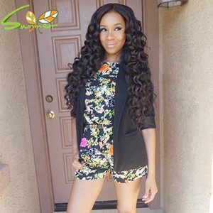 New Arrivals Full Lace Front Wigs With Baby Hair Brazilian Deep Wave Full Lace Wigs For Black Women 8A Bleached Konts Human Wigs