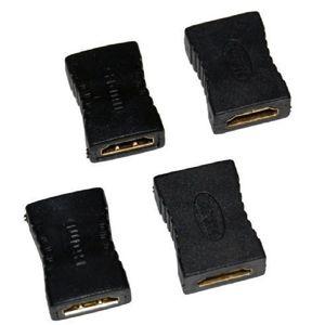 HDMI hembra a hembra F / F Acoplador Extensor Adaptador Conector de extensión para HDTV HDCP 1080P