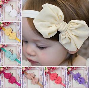 Ücretsiz kargo Patlayıcı çocuk saç ile şifon yay bebek kız headdress popüler saç süsleri TG123 mix sipariş 30 parça çok
