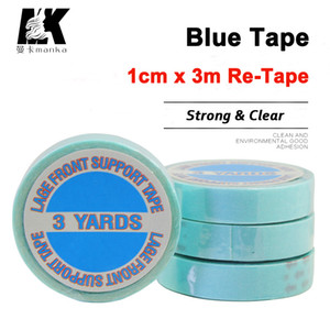 1X3M Strong parte dianteira do laço Super Tape 3Yards Adhesives fita para fita Hair Extensions Lace Wigs