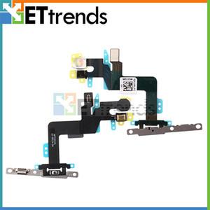 Original novo cabo de energia flex com peças de reparo para o iphone 6 s plus poder mudo botão interruptor de volume cabo com peças de reparo dhl frete grátis