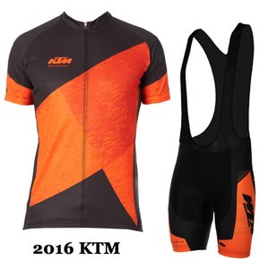 Orange KTM Cycling Jerseys Ropa Ciclismo Breathable Bicycle Clothing Quick-Dry Short Sleeve Mountain Bike Jerseys Ropa Ciclismo