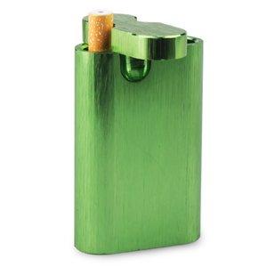 Alles in einem Aluminiumbehälter mit Zigarette 1 PCS Sortierte Farbe geben Verschiffen frei